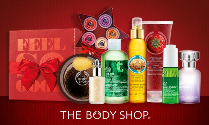 The Body Shop - Winnipeg: $15 for $30 Worth of Natural Skincare, Makeup, Bath & Body Care, Fragrance Products, and Gifts at The Body Shop