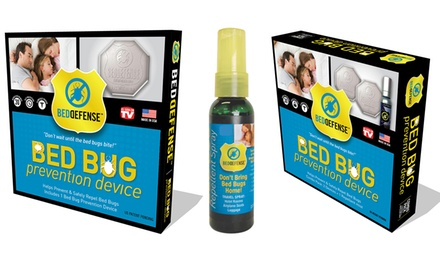 Bed Defense Bed Bug Prevention Disk, Spray, or Combo Pack