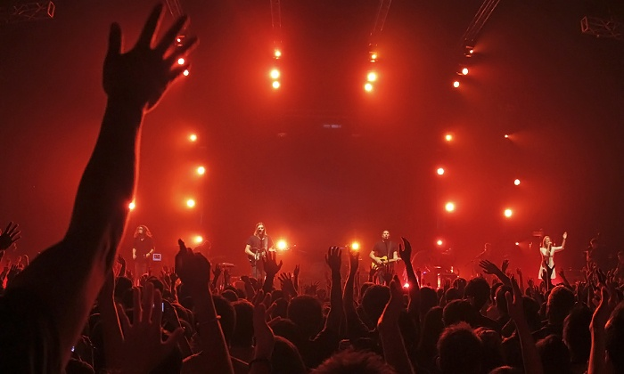 Outcry Tour - Hollywood Casino Amphitheatre: Outcry Tour 2015 with Hillsong UNITED, Kari Jobe, Bethel Music, Passion, and More on August 4 (Up to 54% Off)