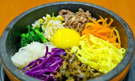 Korean and Japanese Food at Choi's Restaurant (43% Off). Two Options Available.