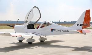 RUWE AERO GmbH: 45, 60 oder 90 Min. selbst einmal Pilot sein bei RUWE AERO (bis zu 52% sparen*)