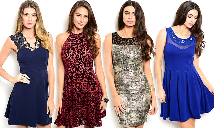 Holiday Cocktail Dresses  Groupon Goods