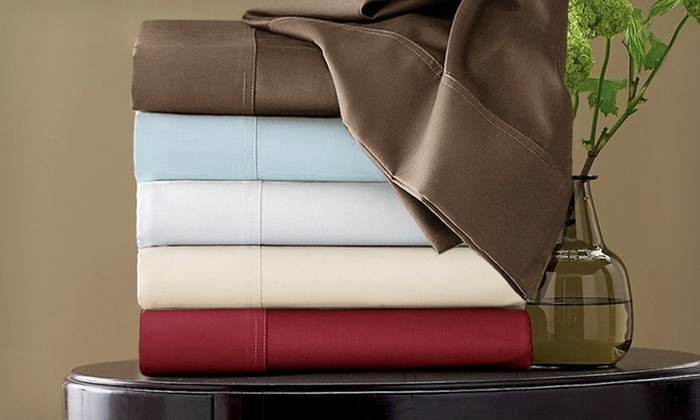 Hotel Grand Egyptian Cotton Rich Sheet Sets: 800-Thread-Count Egyptian Cotton Rich Sheets (Up to 73% Off). Multiple Options. Free Shipping and Returns.