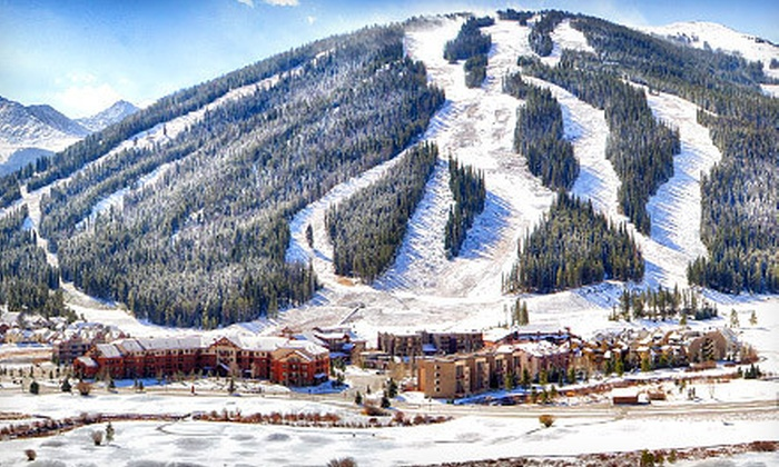 Copper Mountain - Copper Mountain: All-Day Skiing or Snowboarding for Four or Equipment Rental for Two at Copper Mountain (Up to 40% Off)