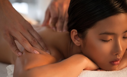 One or Three 60-Minute Massages for One Person or One 60-Minute Couples Massage at Massaging Moments (Up to 57% Off)