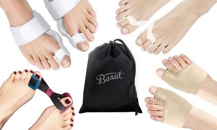 1 ou 2 kits correcteur de 8 pièces pour le soulagement des oignons aux pieds