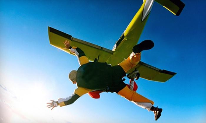 Skydive Coastal California - Camarillo: Tandem Skydiving with a T-Shirt for One or Two at Skydive Coastal California (Up to 51% Off)