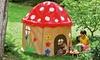 Kids' Mushroom Cottage Play Tent: Kids' Mushroom Cottage Play Tent