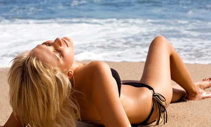Beach Babe Tan - Hollywood: One or Two Mobile Organic Spray Tans at Beach Babe Tan (Up to 65% Off)