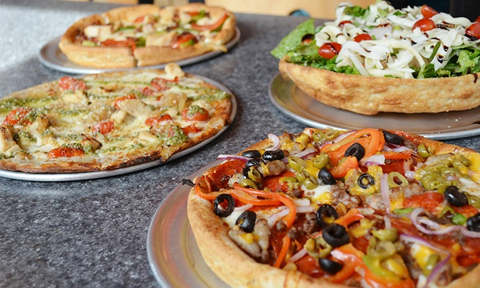 Pie Five Pizza Company - Matthews: Two or Three Groupons for $15 Worth of Pizza at Pie Five Pizza Company (Up to 33% Off)