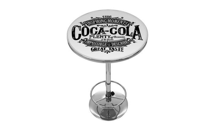Mix And Match Coca Cola Bar Stools Or Pub Tables