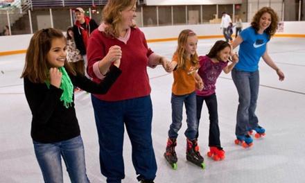 Roller-Skating Package for Two or Four at Austin Sports Arena (Up to 58% Off)