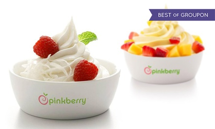 $5 for $10 Worth of Frozen Yogurt, Toppings, and Treats at Pinkberry