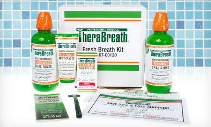 TheraBreath Fresh-Breath Kit: $17 for a TheraBreath Fresh-Breath Kit ($49.50 List Price)