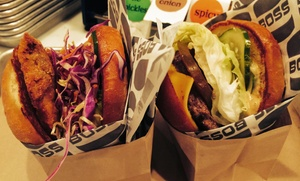 Boss Burger: $29 for Two Groupons, Each Good for $20 Worth of Burgers and Drinks at Boss Burger ($40 Total Value)