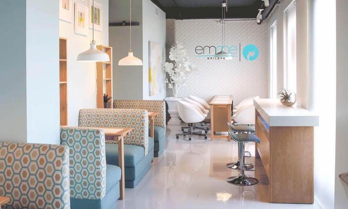 Emme Nailspa - Northwest Side: A Spa Manicure from Emme Nailspa (60% Off)