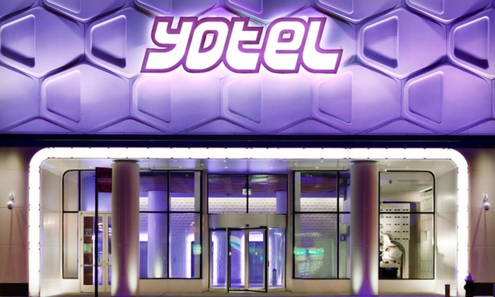null - Hartford: Stay at Yotel Times Square in Manhattan. Dates Available Through September.