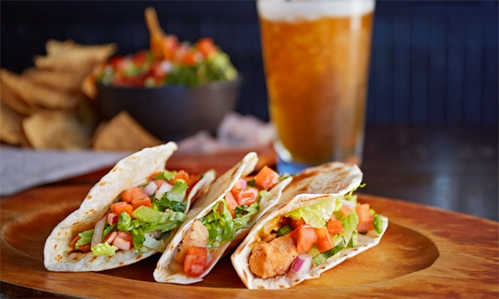 Uptown Bar & Grill - Long Beach: Lunch or Dinner for Two at Uptown Bar & Grill (Up to 50% Off)