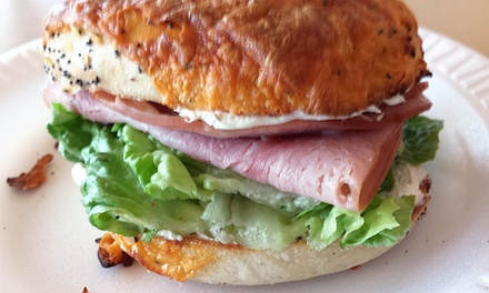 Two Groupons, Each Good for $12 Worth of Café Food, Valid for Lunch or Anytime at Nano's Cafe (Up to 46% Off)