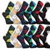 Frenchic Men's Argyle Dress Socks (12-Pack)