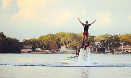 60-Minute Flyboarding Session for One or Two at Elite Flyboarding (Up to 65% Off)