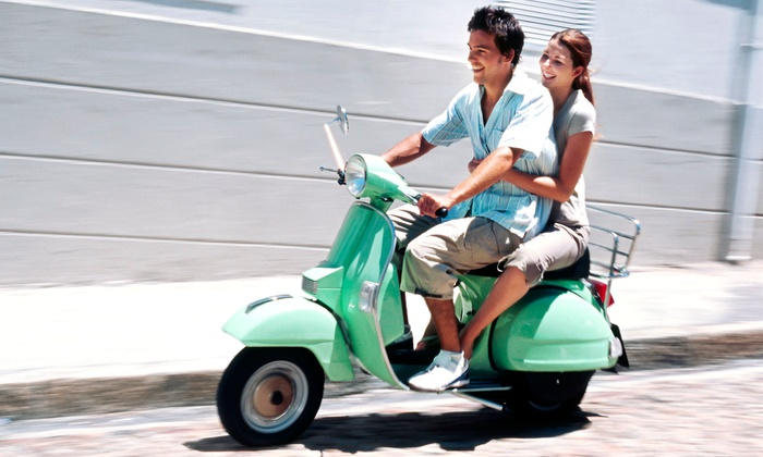 Big Easy Scooters - East Riverside: $45 for a One-Day Scooter Rental with Helmet and Insurance from Big Easy Scooters ($100 Value)