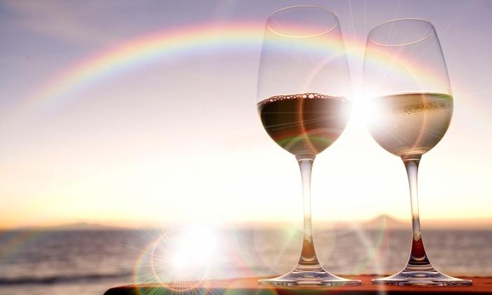 Eye of the Needle Winery - Eye of the Needle Winery: 12th Blend Wine Tasting and Logo Glasses for Two or Four at Eye of the Needle Winery (50% Off)