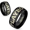 Stainless Steel Playboy Ring for Men or Women