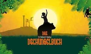 """Theater Lichtermeer: 2 Karten für """"Das Dschungelbuch"""" an verschiedenen Terminen in den Elbarkaden Hamburg mit dem Theater Lichtermeer"""