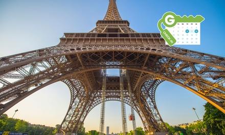 París: habitación doble Classic con desayuno para dos personas en el Hôtel de l'Exposition Tour Eiffel