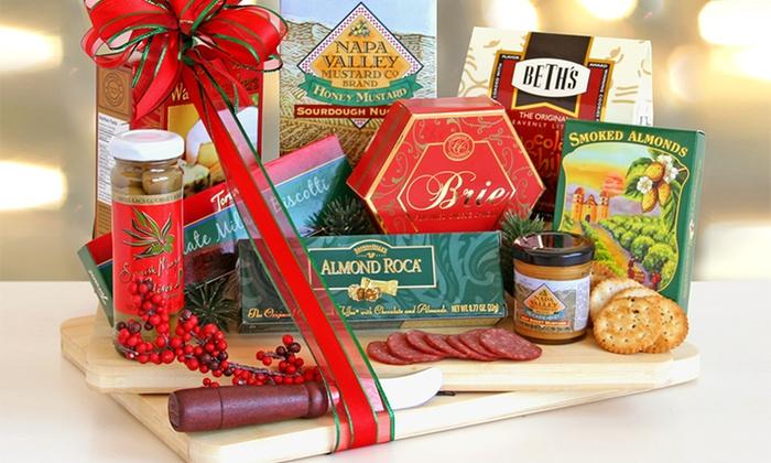 Share The Season Holiday Cutting Board: Share the Season Holiday Cutting Board Gift Set