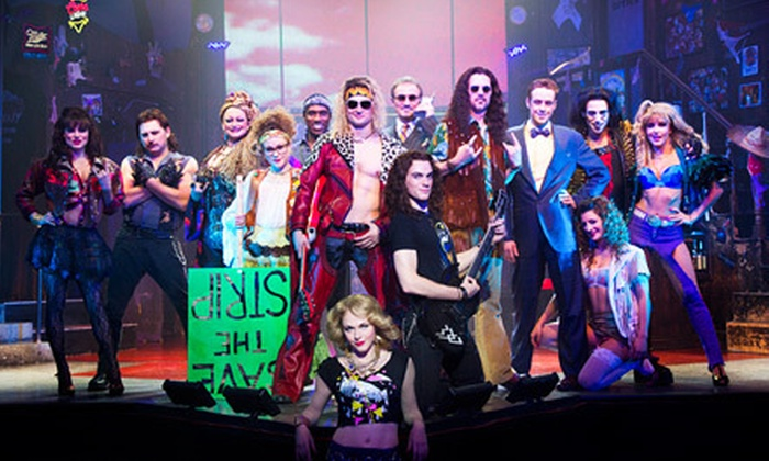 """Rock of Ages - Theatre at the Brick: """"Rock of Ages"""" Musical at Brick Breeden Fieldhouse on December 16 at 7 p.m. (Up to 53% Off). Two Options Available."""