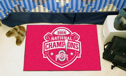 NCAA Ohio State 2014 Football Championship Starter Mat