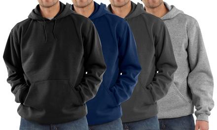 4 felpe da uomo con o senza zip disponibili in vari colori a 39,99 €