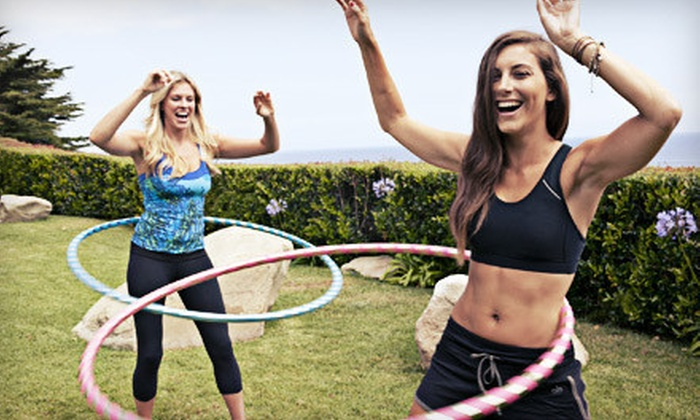 Hoopnotica: $28 for a Hula-Hooping-Workout Starter Kit with Hoop, Carrying Strap, and Two DVDs from Hoopnotica ($69.98 Value)
