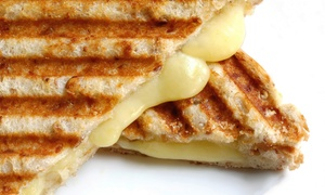 Fromage Garage: Build-Your-Own Grilled Cheese for Two or Four at Fromage Garage (Up to 51% Off)