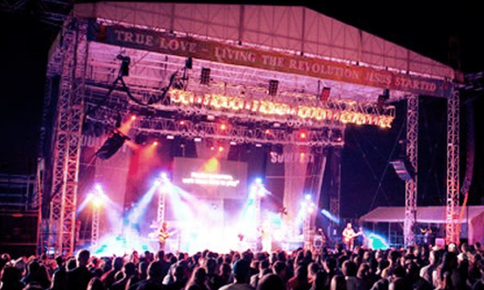SoulFest 2013 - Gunstock Mountain Resort: SoulFest 2013 at Gunstock Mountain Resort, July 31–August 3 (Up to 42% Off)