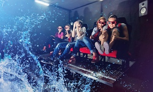 7D Turbo Ride: Admission for Two or Four to 7D Turbo Ride (Up to 50% Off)
