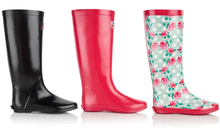 Walk in the Park Rubber Foldable Rain Boots: Walk in the Park Rubber Foldable Rain Boots. Multiple Styles Available. Free Returns.