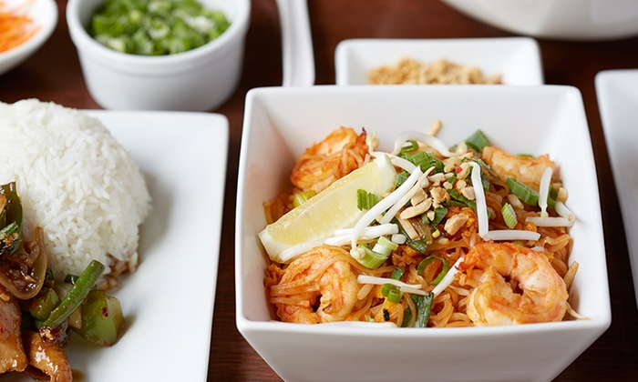 Eat Thai - Eat Thai : Thai Food at Lunch for Two or Four, or Thai Food at Dinner for Two at Eat Thai (Up to 45% Off)