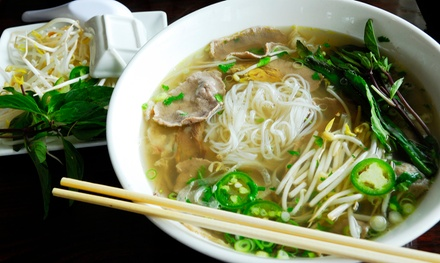 $12 for Two Groupons, Each Good for $10 Worth of Vietnamese Food at Pho Plus Restaurant ($20 Value)