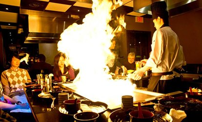 $21 for $40 Worth of Hibachi Dinner Cuisine at Todoroki Hibachi and <strong>Sushi</strong>