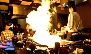 Todoroki Hibachi and Sushi: $19 for $40 Worth of Hibachi Dinner Cuisine at Todoroki Hibachi and Sushi