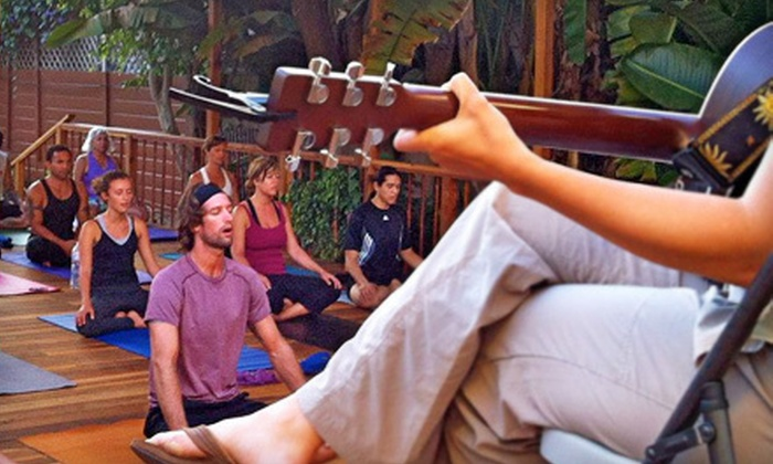 Riffs Acoustic Music - Bird Rock: 10 or 20 Yoga Classes at Riffs Acoustic Music (Up to 76% Off)