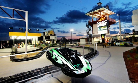 Triple Threat, Xtreme, or Junior Go-Kart Package at Xtreme Racing Center Branson (Up to 44% Off)