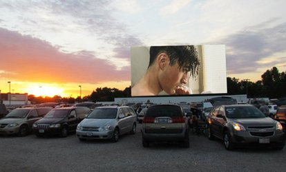 image for Movie Night with Popcorn for Two or Four at Skyview Drive-In Theater (Up to 40% Off). Four Options Available.