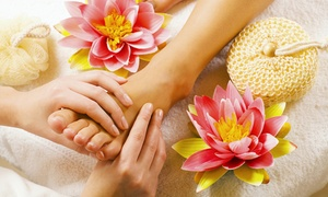 Sweet Lily Beauty Salon: 45- or 30-Minute Reflexology with Optional Manicure, Pedicure or Both at Sweet Lily Beauty Salon (up to 54% off)