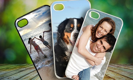 Customized Plastic or Silicone iPhone 4/4s or 5 Cases from Picture It On Canvas for $5.99–$9.99