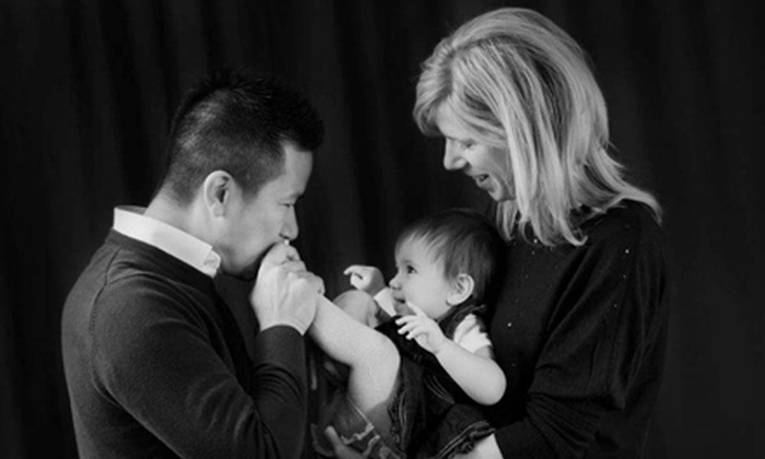"Jerome Photography - Billings Bridge - Alta Vista: $75 for One-Hour In-Studio Photo Shoot with Two 8""x10"" Prints and Web Slideshow at Jerome Photography ($300 Value)"