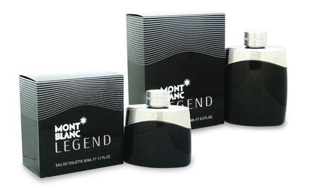 Mont Blanc Legend Eau de Toilette for Men; 1.7 or 3.3 Fl. Oz. for $29.99 or $36.99